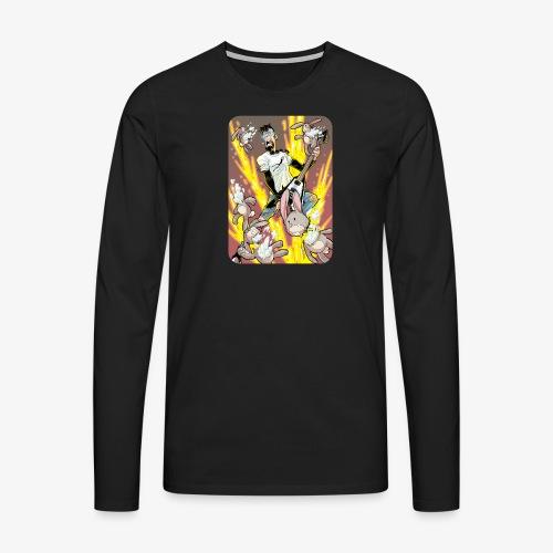 Leo Rock Bunny - Premium langermet T-skjorte for menn