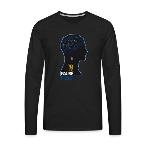 thebrain_ - Männer Premium Langarmshirt