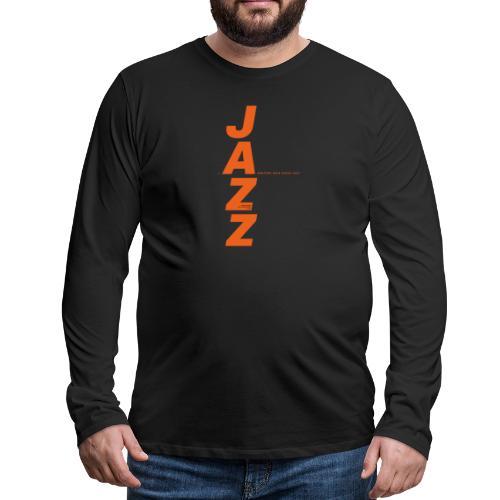 Thunder Jazz - Camiseta de manga larga premium hombre