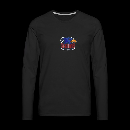 Sektion9 Dunkelblau - Männer Premium Langarmshirt