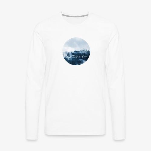 Serenity - Långärmad premium-T-shirt herr