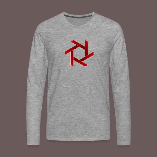 Star - Herre premium T-shirt med lange ærmer