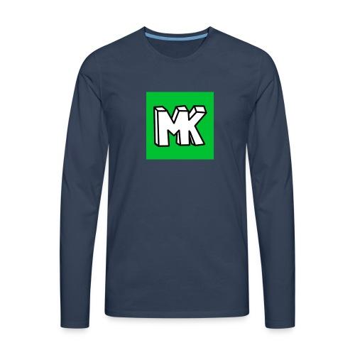 MK - Mannen Premium shirt met lange mouwen