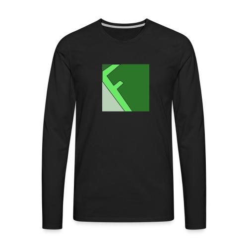 Frager - Långärmad premium-T-shirt herr