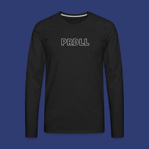 PRDLL White - Mannen Premium shirt met lange mouwen