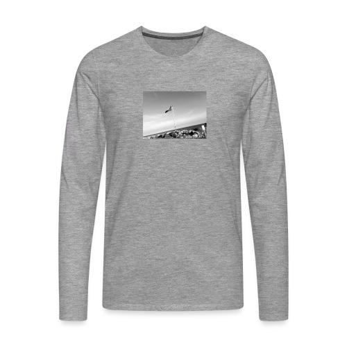 Beach feeling - Männer Premium Langarmshirt