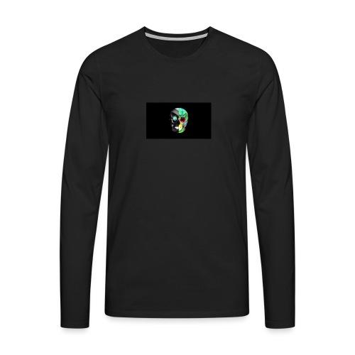 skeleton official logo - Men's Premium Longsleeve Shirt