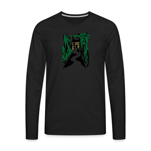 HALLOWEEN SPOOKY HAUNTED MANSION 2017 - Männer Premium Langarmshirt