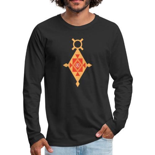 Etoile Croix du Sud Berbère - T-shirt manches longues Premium Homme