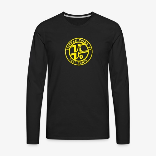 ViVoPAITA transparent - Miesten premium pitkähihainen t-paita