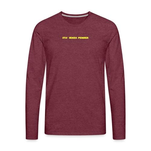 UVSMF - Maglietta Premium a manica lunga da uomo