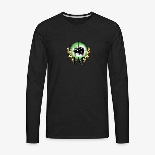 Load Aim Fire Merchandise - Mannen Premium shirt met lange mouwen