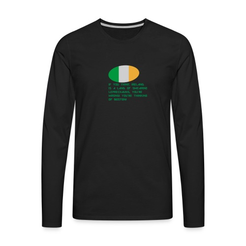 IRELAND MERCH - Men's Premium Longsleeve Shirt