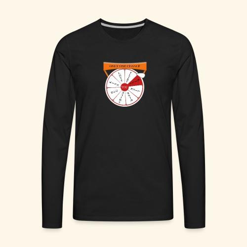 wheel of fortune? - Maglietta Premium a manica lunga da uomo