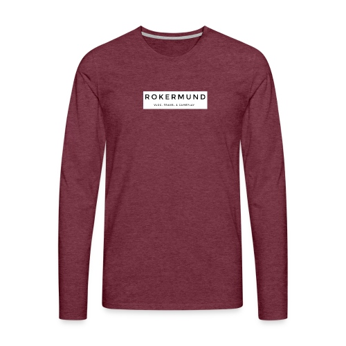 Rokermund - Maglietta Premium a manica lunga da uomo