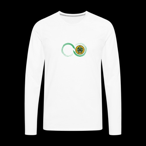 Harp and French CSC logo - T-shirt manches longues Premium Homme