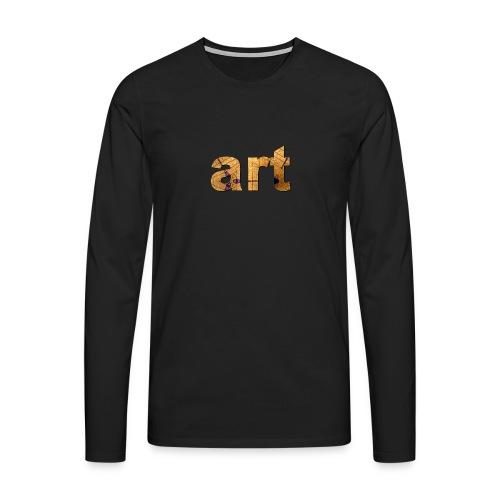 art - T-shirt manches longues Premium Homme