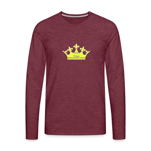Team King Crown - Men's Premium Longsleeve Shirt