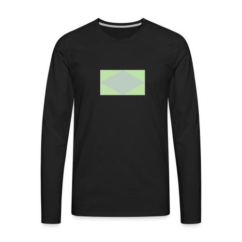 H - Maglietta Premium a manica lunga da uomo