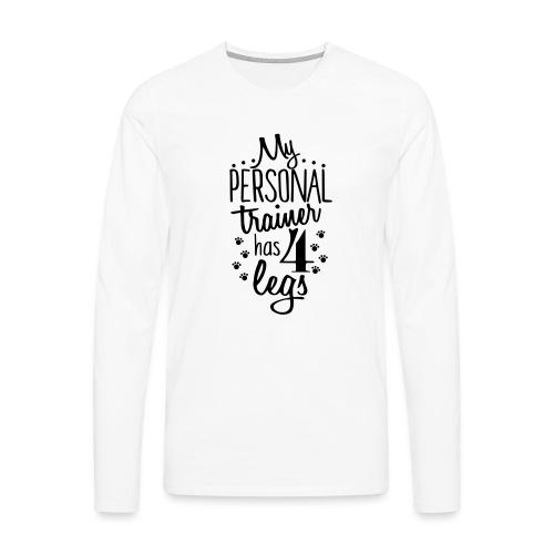 0personaltrainer - Men's Premium Longsleeve Shirt