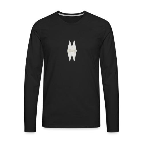 MELWILL white - Men's Premium Longsleeve Shirt