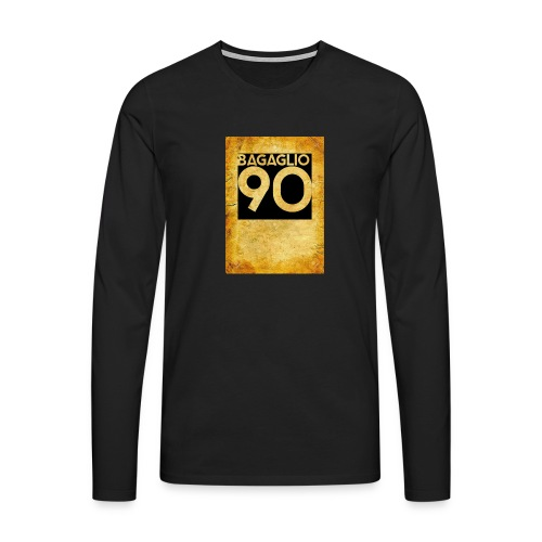 Anni 90 - Maglietta Premium a manica lunga da uomo
