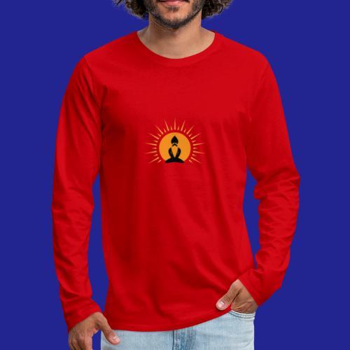 Guramylyfe logo no text black - Men's Premium Longsleeve Shirt