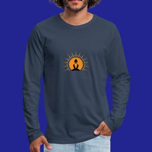 Guramylife logo black - Men's Premium Longsleeve Shirt