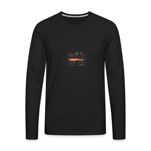 DIAGRAMME - T-shirt manches longues Premium Homme
