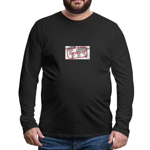 covid 19 - Männer Premium Langarmshirt