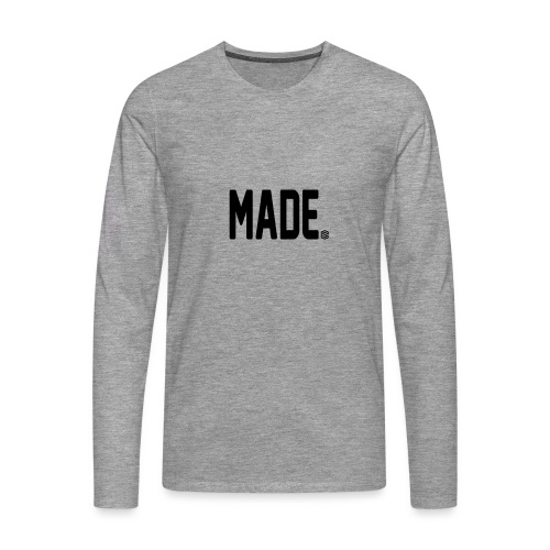 madesc - Långärmad premium-T-shirt herr