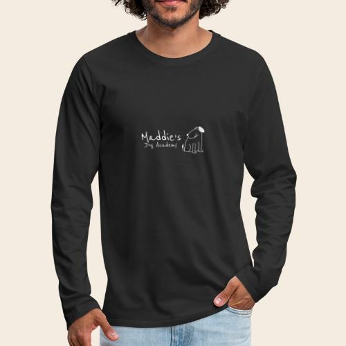 Académie des chiens de Maddie (blanc) - T-shirt manches longues Premium Homme
