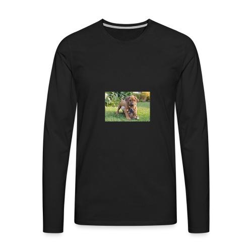 adorable puppies - Men's Premium Longsleeve Shirt