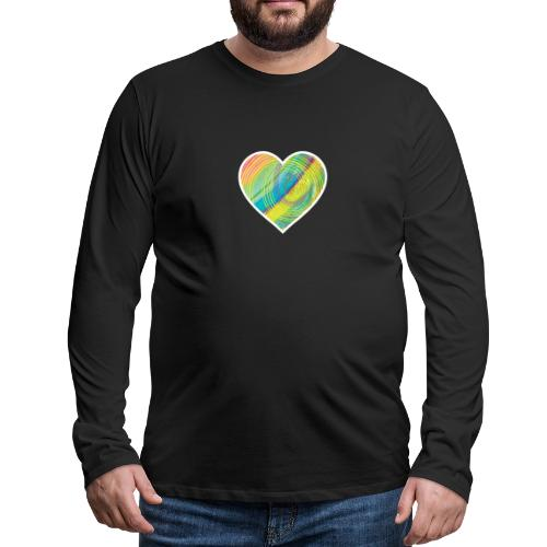 Spread the Love - Men's Premium Longsleeve Shirt