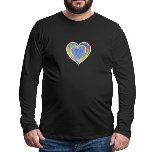 Heart Vibes - Men's Premium Longsleeve Shirt