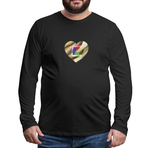 Chris could be crossed by colorful continous C's - Men's Premium Longsleeve Shirt