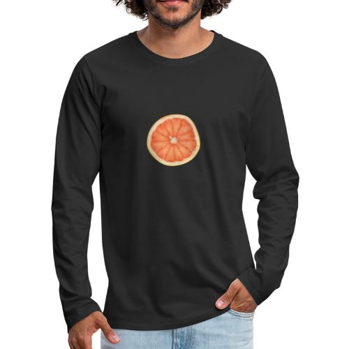 Grapefruit - Männer Premium Langarmshirt