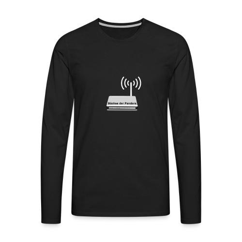 Büchse der Pandora - Männer Premium Langarmshirt