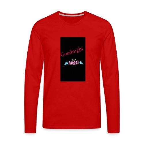 goodnight Angel Snapchat - Men's Premium Longsleeve Shirt