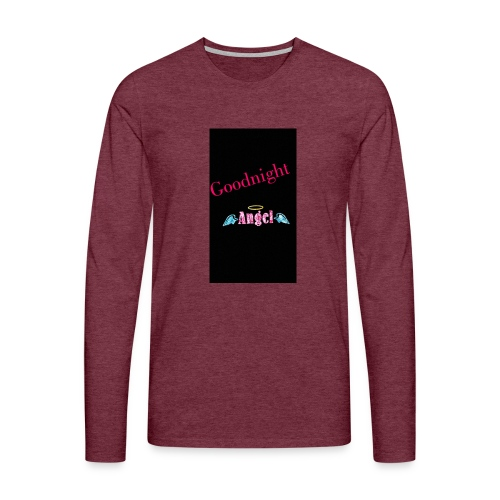goodnight Angel Snapchat - Men's Premium Longsleeve Shirt
