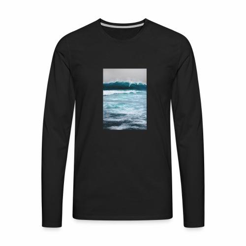 sea - Maglietta Premium a manica lunga da uomo