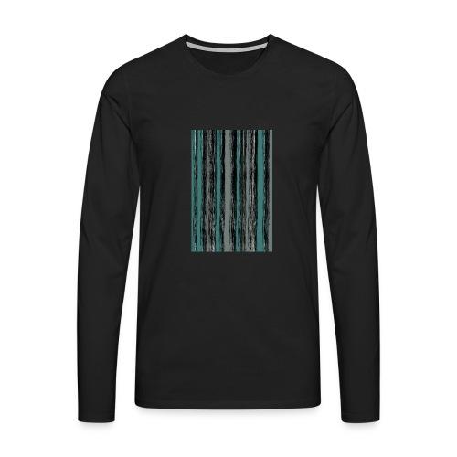 StripesTurl - Männer Premium Langarmshirt