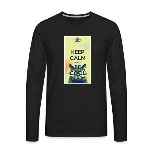 COOL - Mannen Premium shirt met lange mouwen
