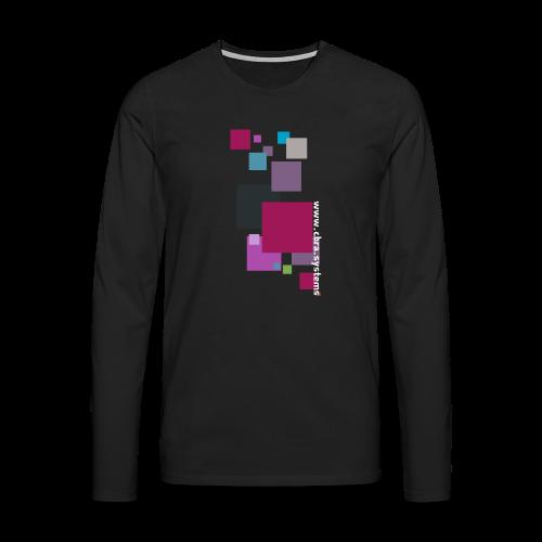 ontwerp t shirt png - Men's Premium Longsleeve Shirt