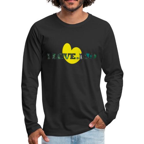 ILOVE.RIO TROPICAL N°1 - Men's Premium Longsleeve Shirt