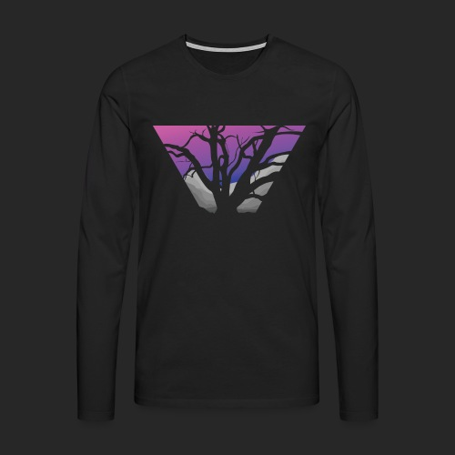 Purple Branches - Men's Premium Longsleeve Shirt