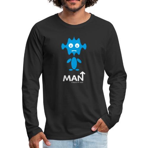 Man - Männer Premium Langarmshirt