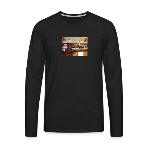 Cpr 2934 - Herre premium T-shirt med lange ærmer