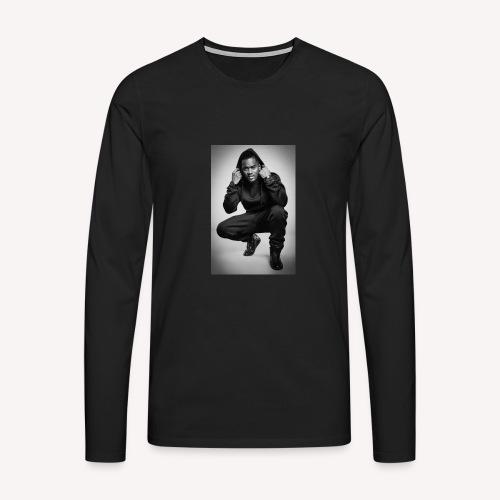Black M - T-shirt manches longues Premium Homme