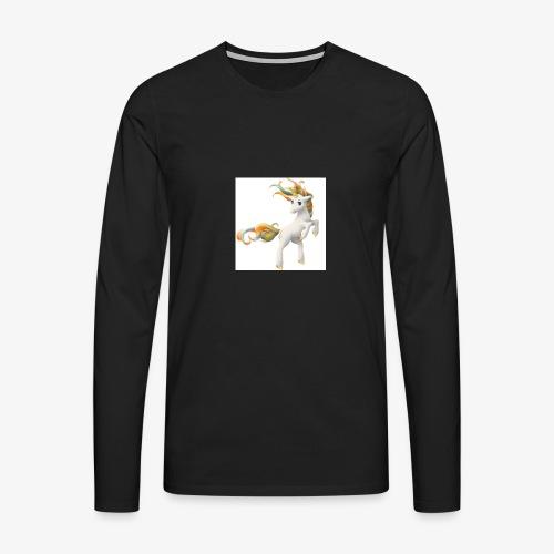 Love Unicorn - Männer Premium Langarmshirt